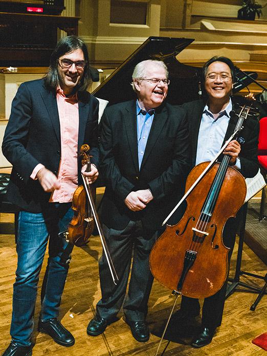 PIAS prod 18-19, Trio AX, KAVAKOS, YO-YO MA; photo ©Shane McCauley